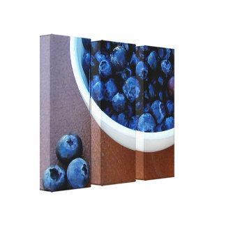 Lienzo Cuenco grande de azul