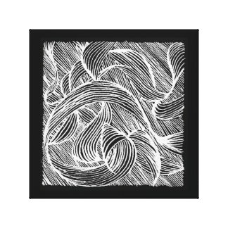 Lienzo Curly lines