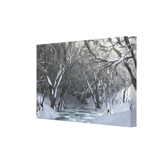 Lienzo Dapplewood (invierno)