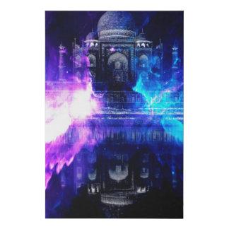 Lienzo De Imitación Anuncio Amorem Amisi el Taj Mahal