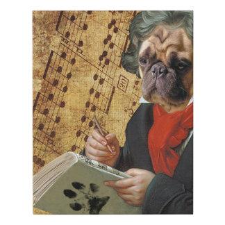 Lienzo De Imitación Barkthoven - el barro amasado de Beethoven