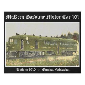Lienzo De Imitación Coche de motor de la gasolina de McKeen 101