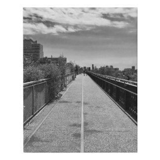 Lienzo De Imitación El Highline