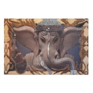 Lienzo De Imitación Ilustraciones de Ganesha por Deprise