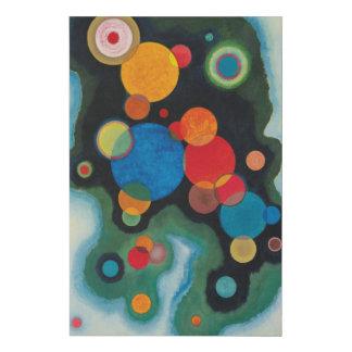 Lienzo De Imitación Kandinsky profundizó las ilustraciones abstractas