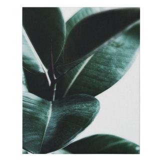 Lienzo De Imitación Lona de color verde oscuro de la naturaleza