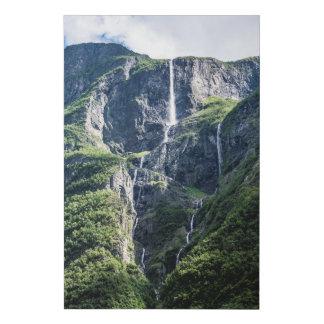 Lienzo De Imitación Lona noruega de la cascada