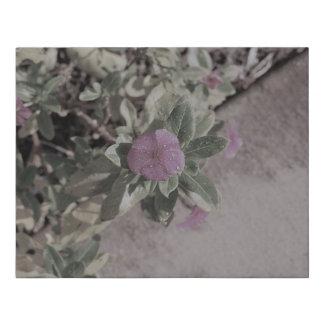 Lienzo De Imitación Lona púrpura de la flor