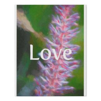 Lienzo De Imitación Poster del amor