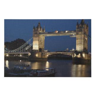 Lienzo De Imitación Puente de la torre, Londres