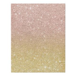 Lienzo De Imitación Purpurina color de rosa moderno del oro del ombre