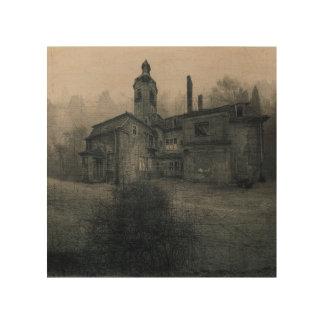 Lienzo de madera - Abandoned Place villa Echar