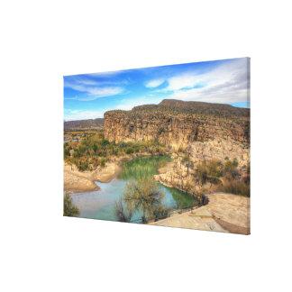 Lienzo Desatención del Rio Grande