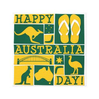 Lienzo Día de Australia