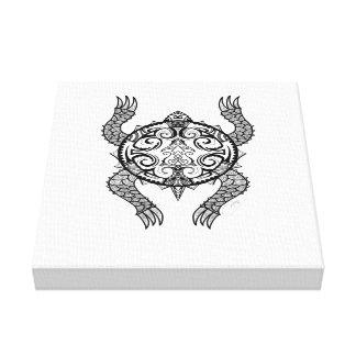 Lienzo Dibujo de la tortuga