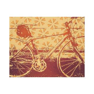 Lienzo Diseño de la bici del indie