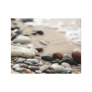 Lienzo Diseño de la foto de la playa el |