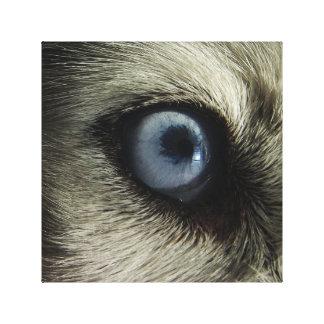 Lienzo Diseño fornido de la foto del ojo el |