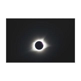 Lienzo Eclipse solar total 2017