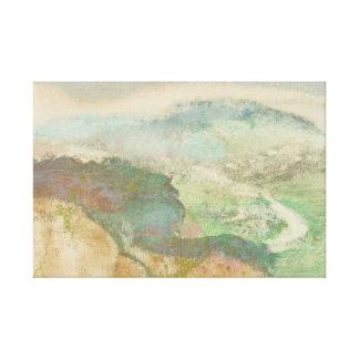 Lienzo Edgar Degas - paisaje