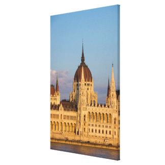 Lienzo Edificio del parlamento, Hungría