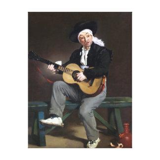 Lienzo Édouard Manet el cantante español