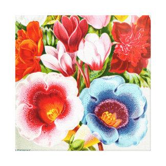 Lienzo Ejemplo floral 1896 brillantes