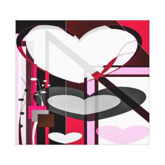 """Lienzo """"El amor para el diseño """""""