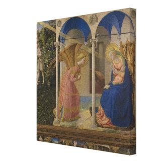 Lienzo El anuncio, 1425-8