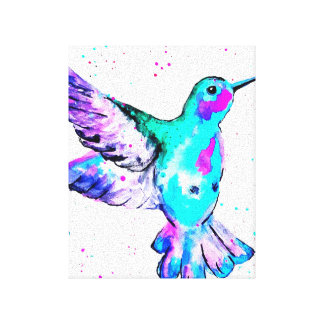 Lienzo El colibrí