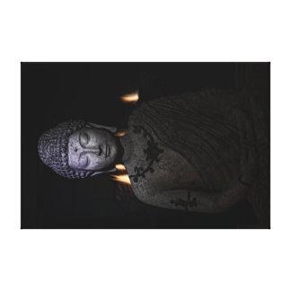 Lienzo el fuego está dentro del Buda
