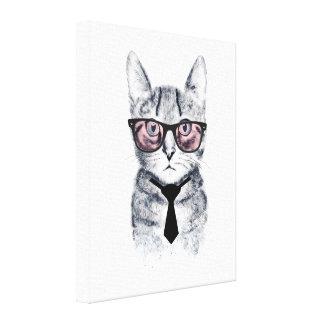 Lienzo El gato elegante de Panka