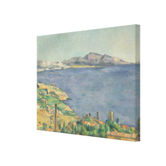 Lienzo El golfo de Marsella visto de L'Estaque