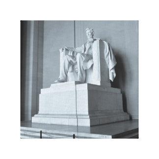 Lienzo El Lincoln memorial en Washington DC