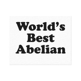 Lienzo El mejor abeliano del mundo