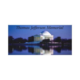 Lienzo El monumento de Thomas Jefferson