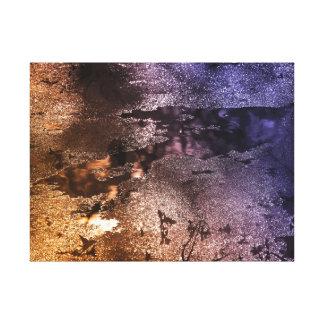 Lienzo El múltiplo colorea fotografía abstracta de la