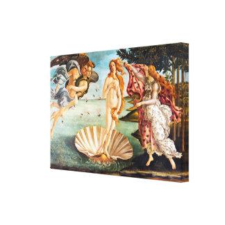 Lienzo El nacimiento de Botticelli de Venus restauró