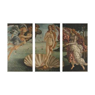 Lienzo El nacimiento de Venus