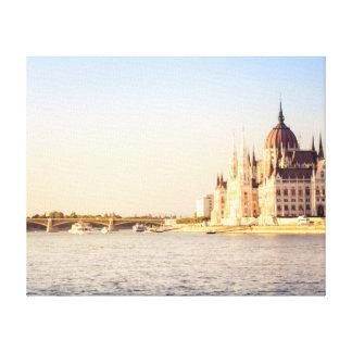Lienzo El parlamento de Budapest