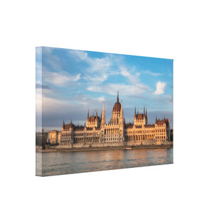 Lienzo El parlamento húngaro