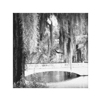 Lienzo El puente de la magnolia