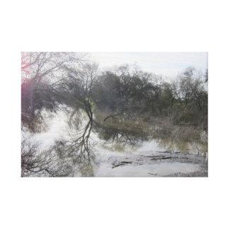 Lienzo El río San Joaquin, Lathrop, CA 1