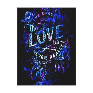 Lienzo El sueño del amante de los que nos aman