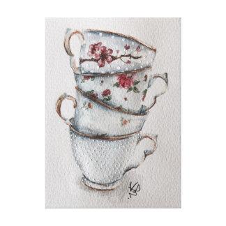 Lienzo Es siempre tiempo del té