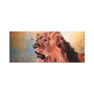 Lienzo Espacio de los leones