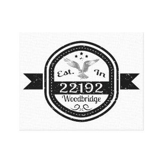 Lienzo Establecido en 22192 Woodbridge