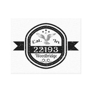 Lienzo Establecido en 22193 Woodbridge