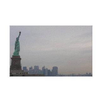 Lienzo Estatua de la libertad - New York City