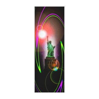 Lienzo Estatua de libertad - estatua of Liberty Abstrakt2